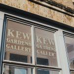 kew gardens gallery sign
