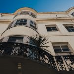 Outside of Blanch House Hotel Brighton