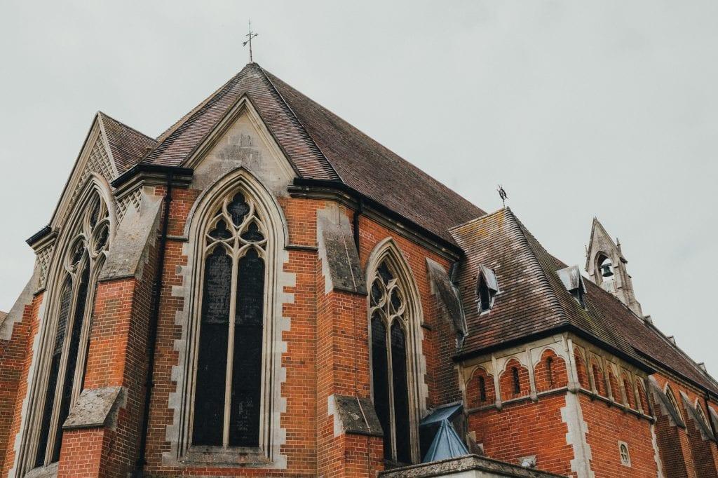 all saints chapel eastbourne exterior