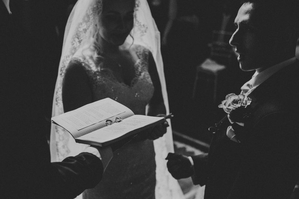 rings during wedding