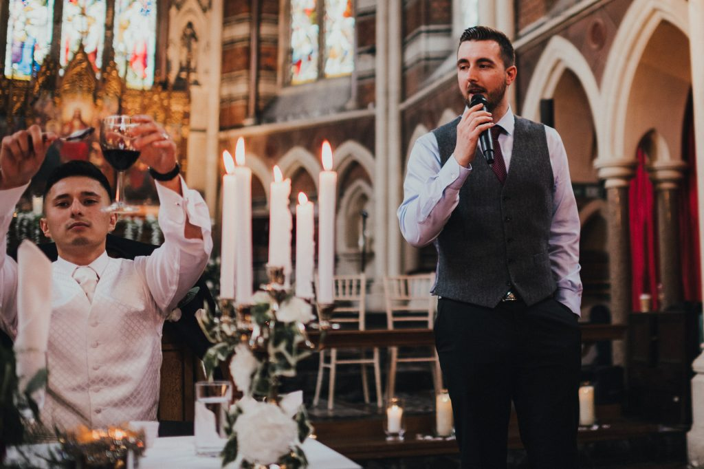 wedding speech from master of ceremonies