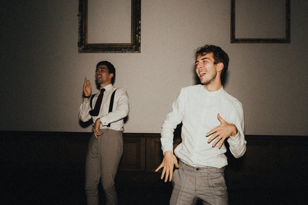 guests dancing together
