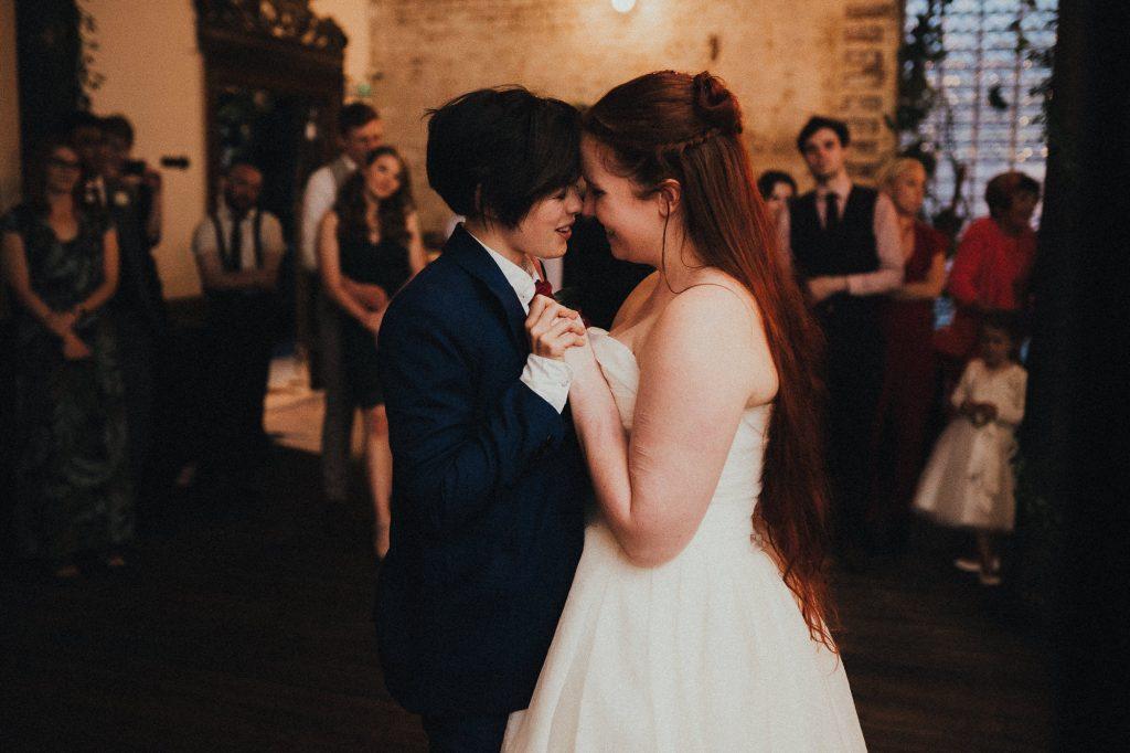 brides first dance