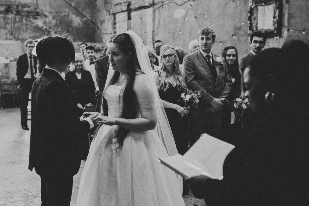 brides saying their vows