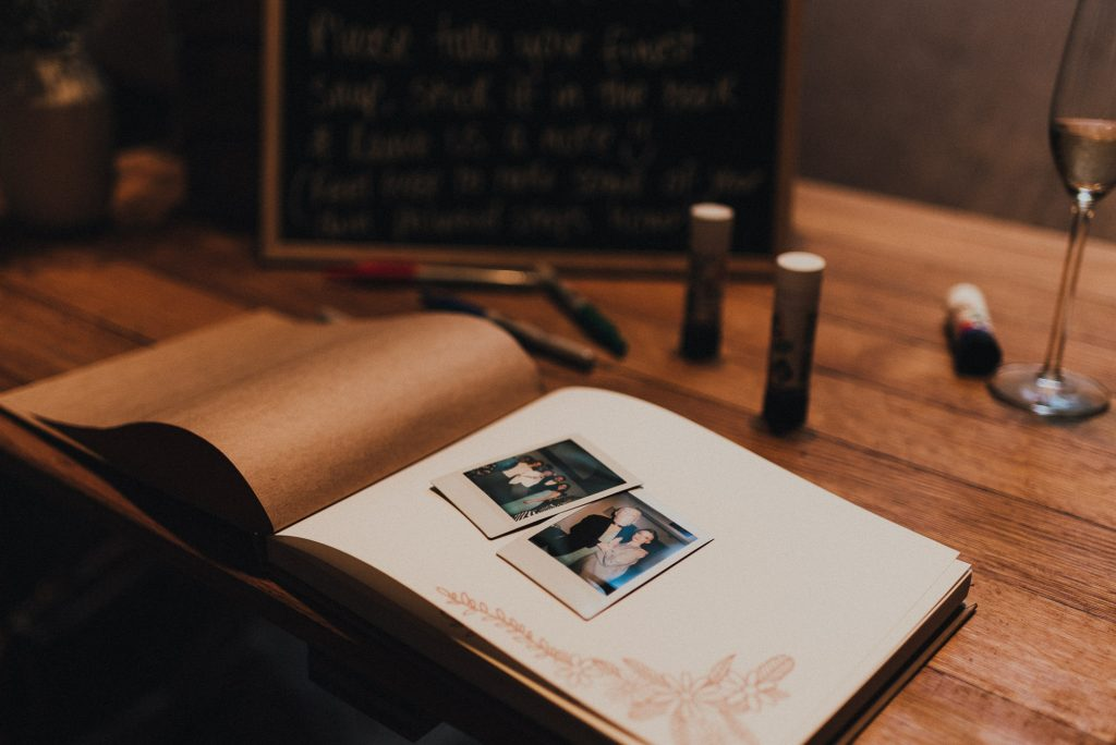 instax polaroid guest book