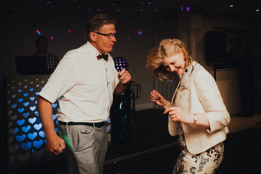 older couple dancing together